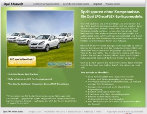 Opel LPG Autogas