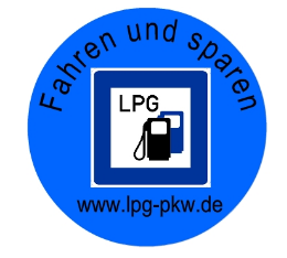 LPG-PKW-Button